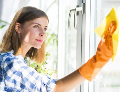 Clean Windows With Nano Coating